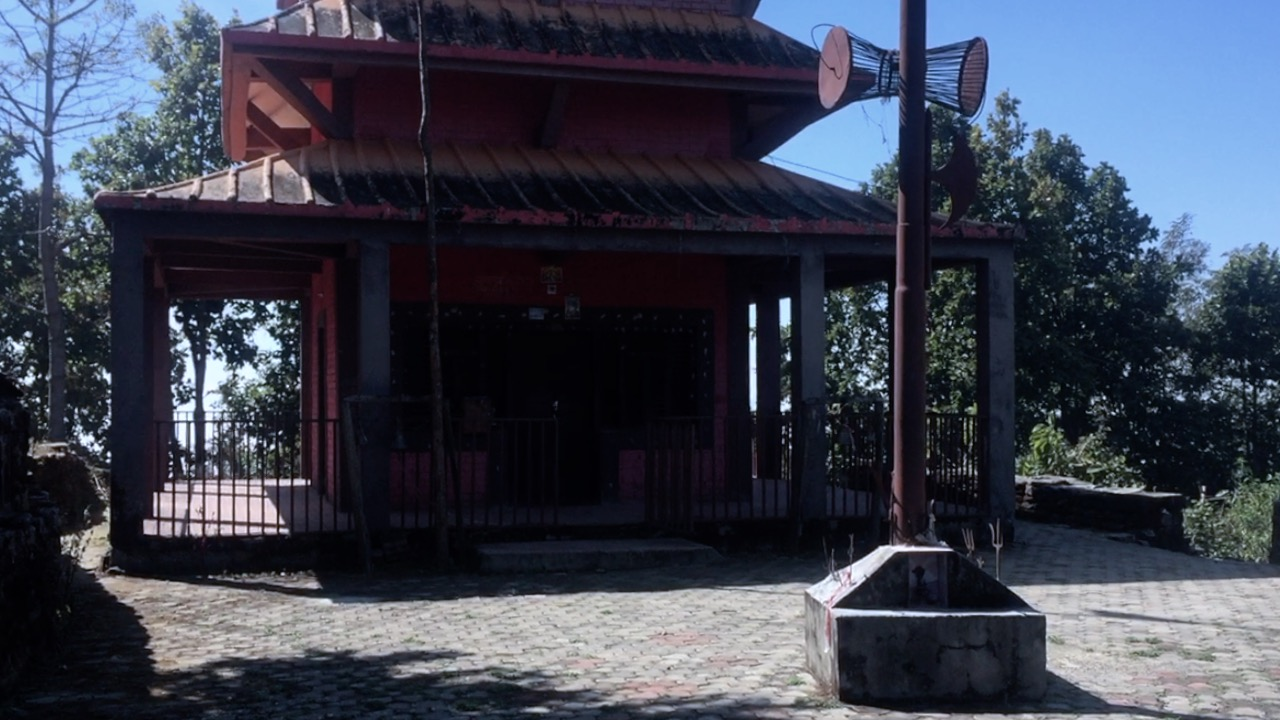 bhairav temple of nuwakot